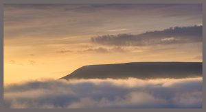 mist under pendle.... by Phil Darby
